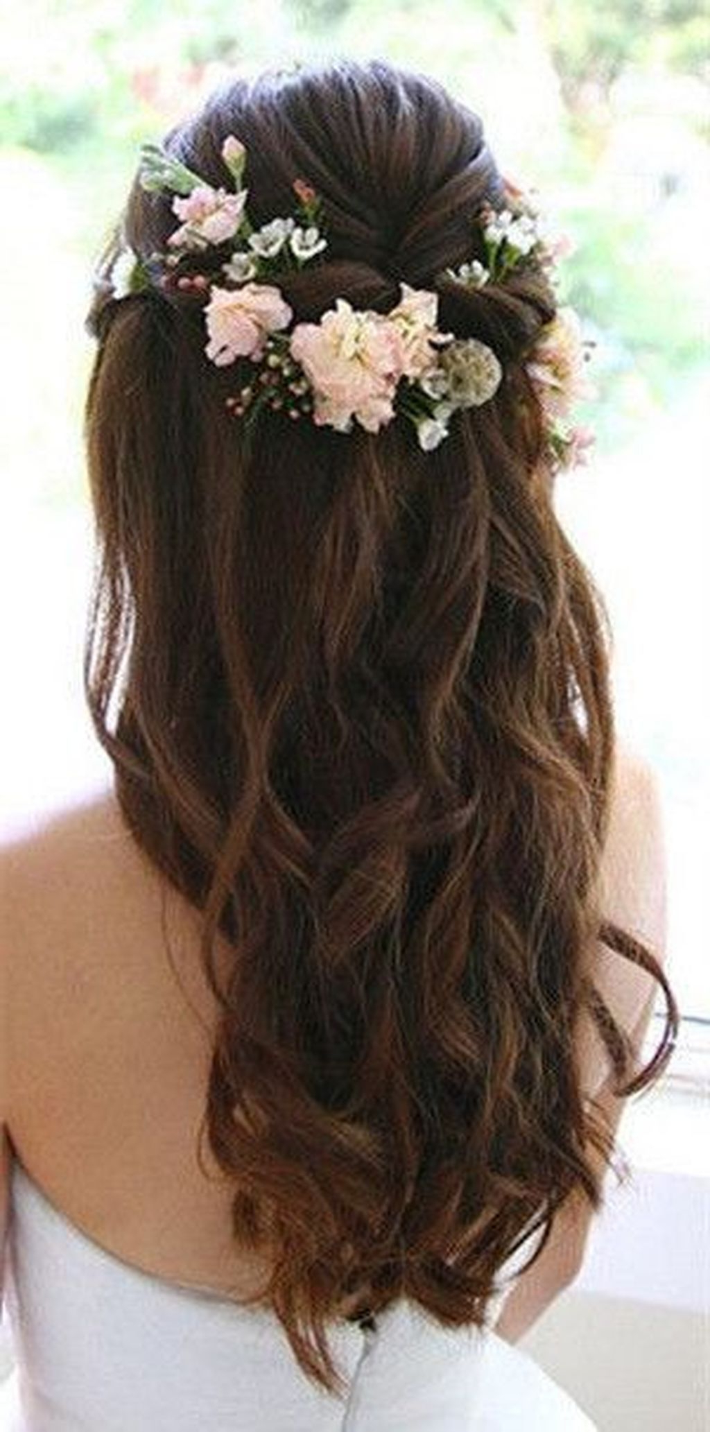 Wedding Hairstyles, Bridal Hair In Most Recently Released Pinned Brunette Ribbons Bridal Hairstyles (View 20 of 20)