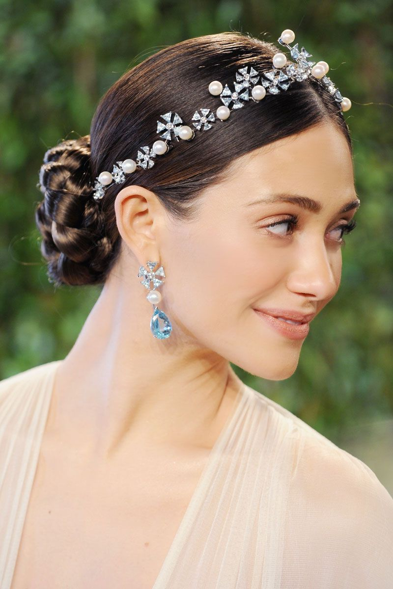 Wedding Hairstyles, Hair Styles, Hair Intended For Well Liked High Updos With Jeweled Headband For Brides (View 20 of 20)