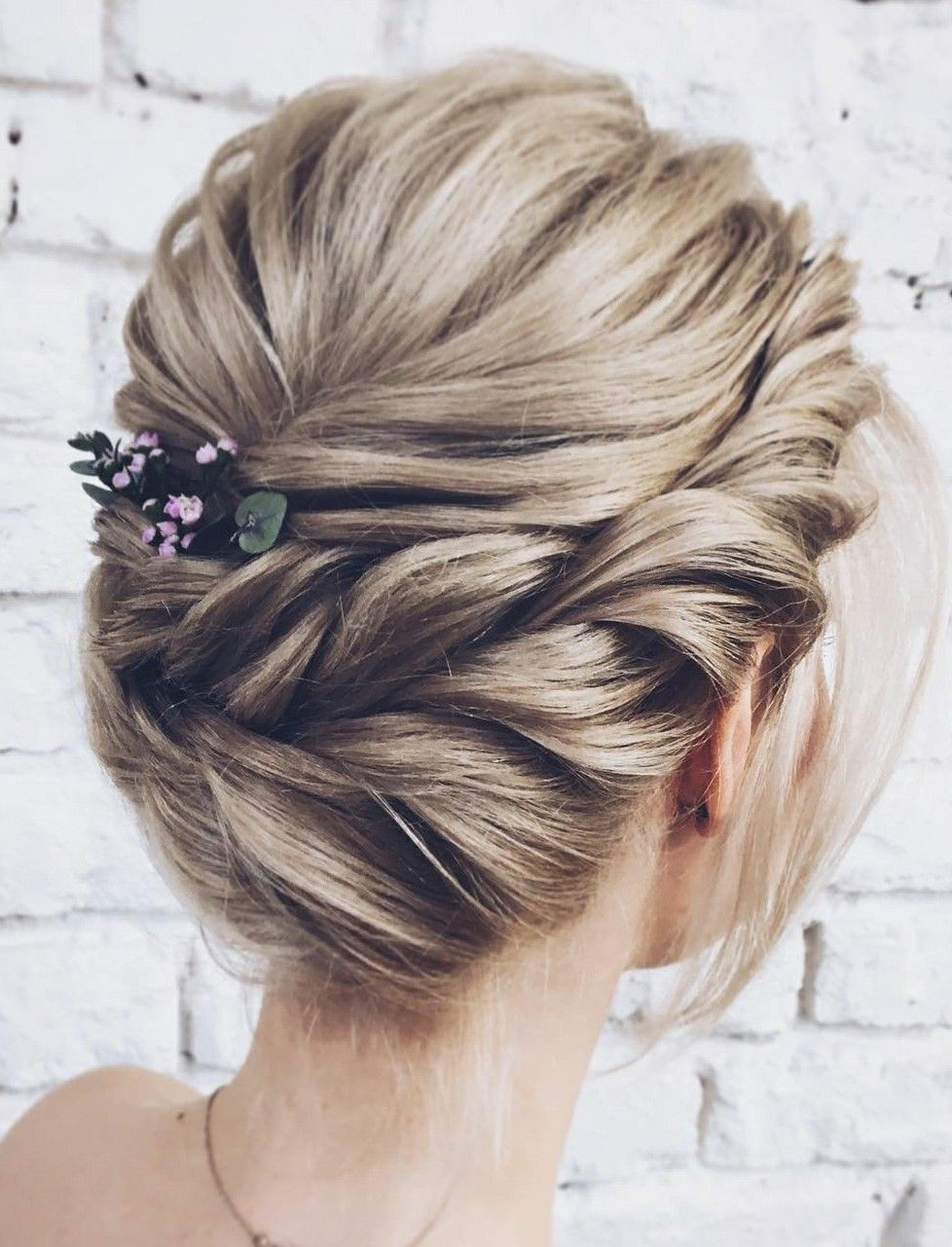 Wedding Hairstyles Intended For Best And Newest Braided Lavender Bridal Hairstyles (View 16 of 20)