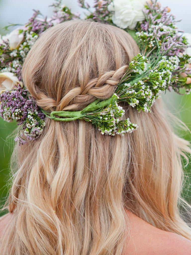 Wedding Hairstyles Intended For Famous Braided Lavender Bridal Hairstyles (View 17 of 20)