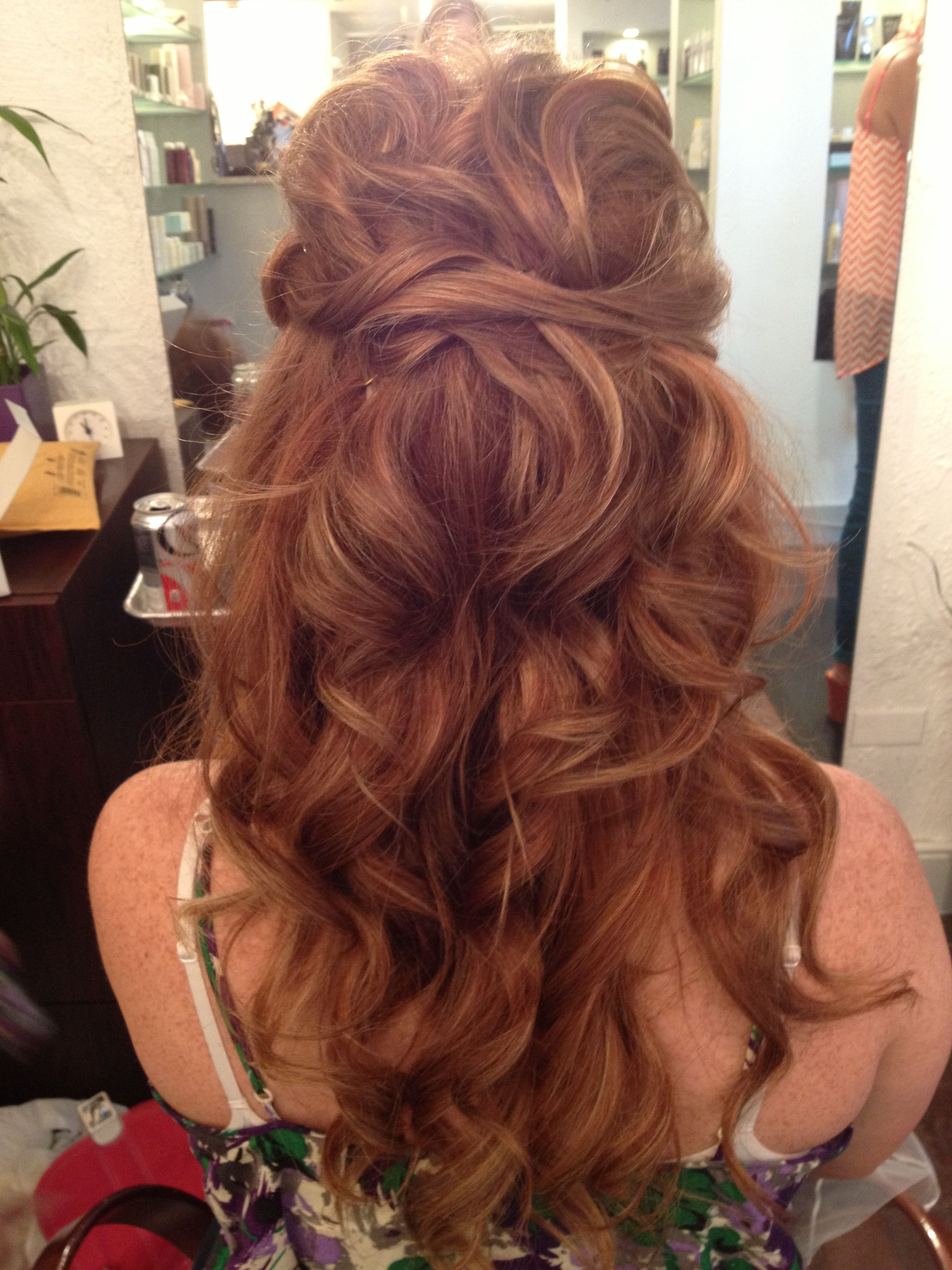 Wedding Hairstyles Regarding Favorite Twisted And Pinned Half Up Wedding Hairstyles (View 20 of 20)