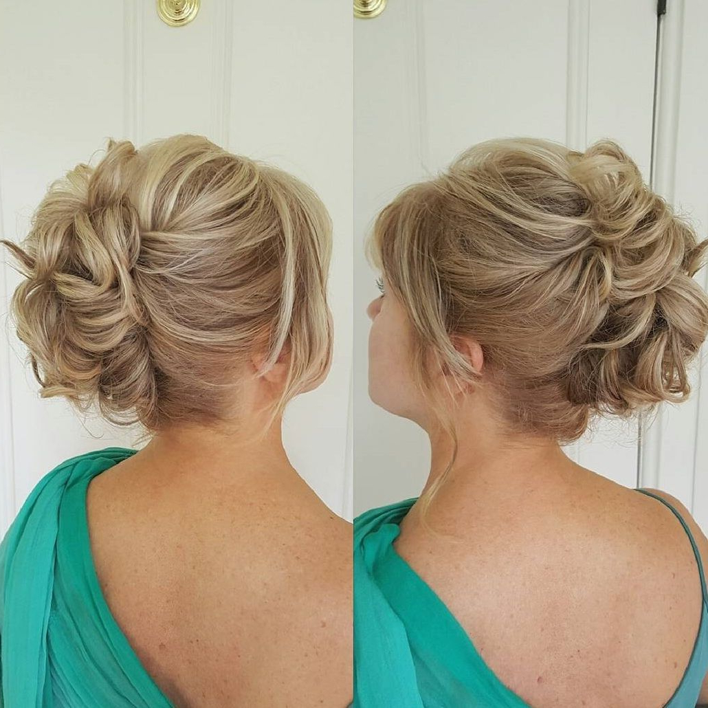 Wedding – Mob Within Widely Used Sophisticated Mother Of The Bride Hairstyles (Gallery 10 of 20)