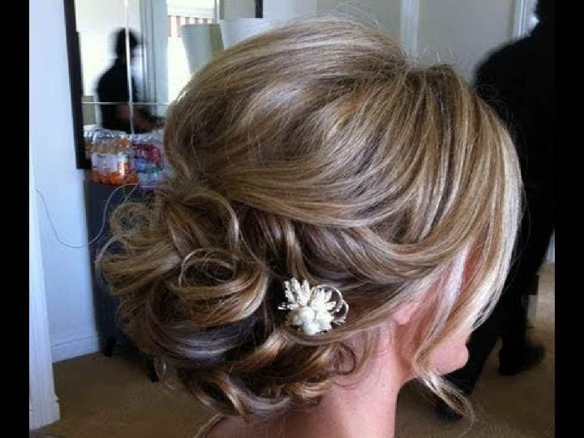 Well Known Blonde And Bubbly Hairstyles For Wedding Within Mother Of Groom Hairstyles Updo Mother Groom Wedding Hairstyles Half (Gallery 2 of 20)