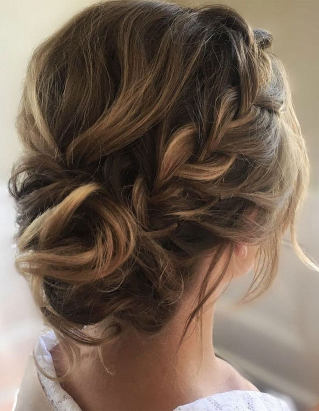 Well Known Bohemian Braided Bun Bridal Hairstyles For Short Hair In 10+ Wonderful Bridesmaid Updo Hairstyles (View 3 of 20)