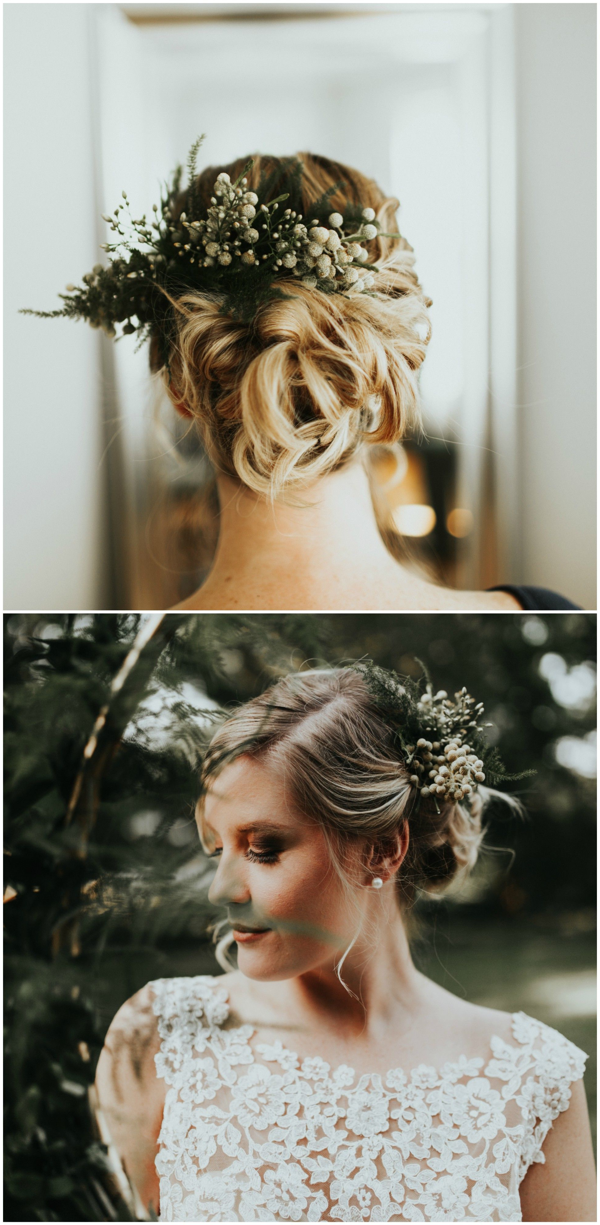 Well Known Curled Bridal Hairstyles With Tendrils With The Smarter Way To Wed (View 9 of 20)