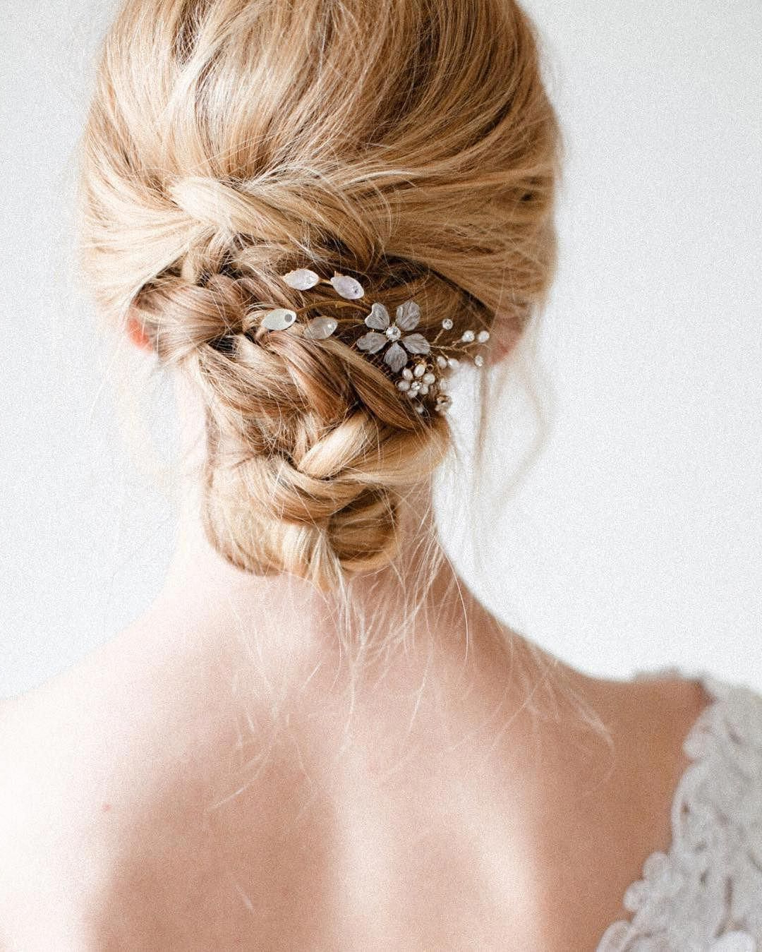 Well Known Delicate Curly Updo Hairstyles For Wedding With Always Romantic  Delicate Updos With Just A Hint Of Sparkle (Photo (Gallery 10 of 20)