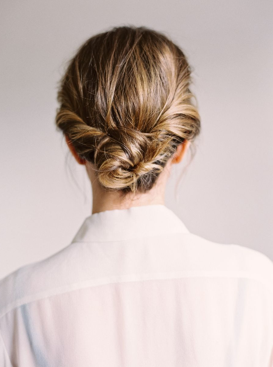 Well Known Fancy Chignon Wedding Hairstyles For Lob Length Hair Throughout 3 Easy Ways To Style A Lob (Gallery 3 of 20)