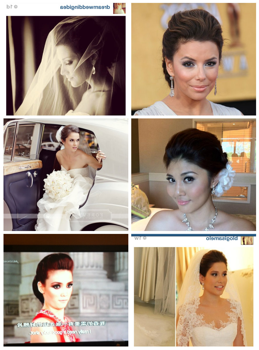 Well Known Pompadour Bun Hairstyles For Wedding Throughout Hairstyles (View 6 of 20)
