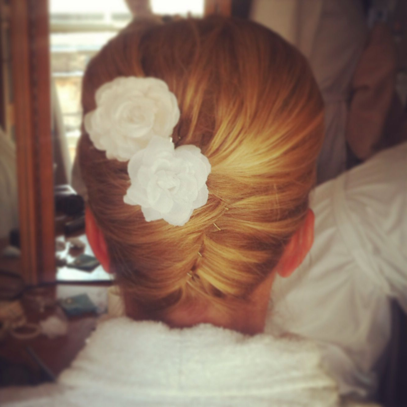 Well Known Short Classic Wedding Hairstyles With Modern Twist Pertaining To Bridesmaid Hair. Modern Twist On A Classic Vertical Roll (View 19 of 20)