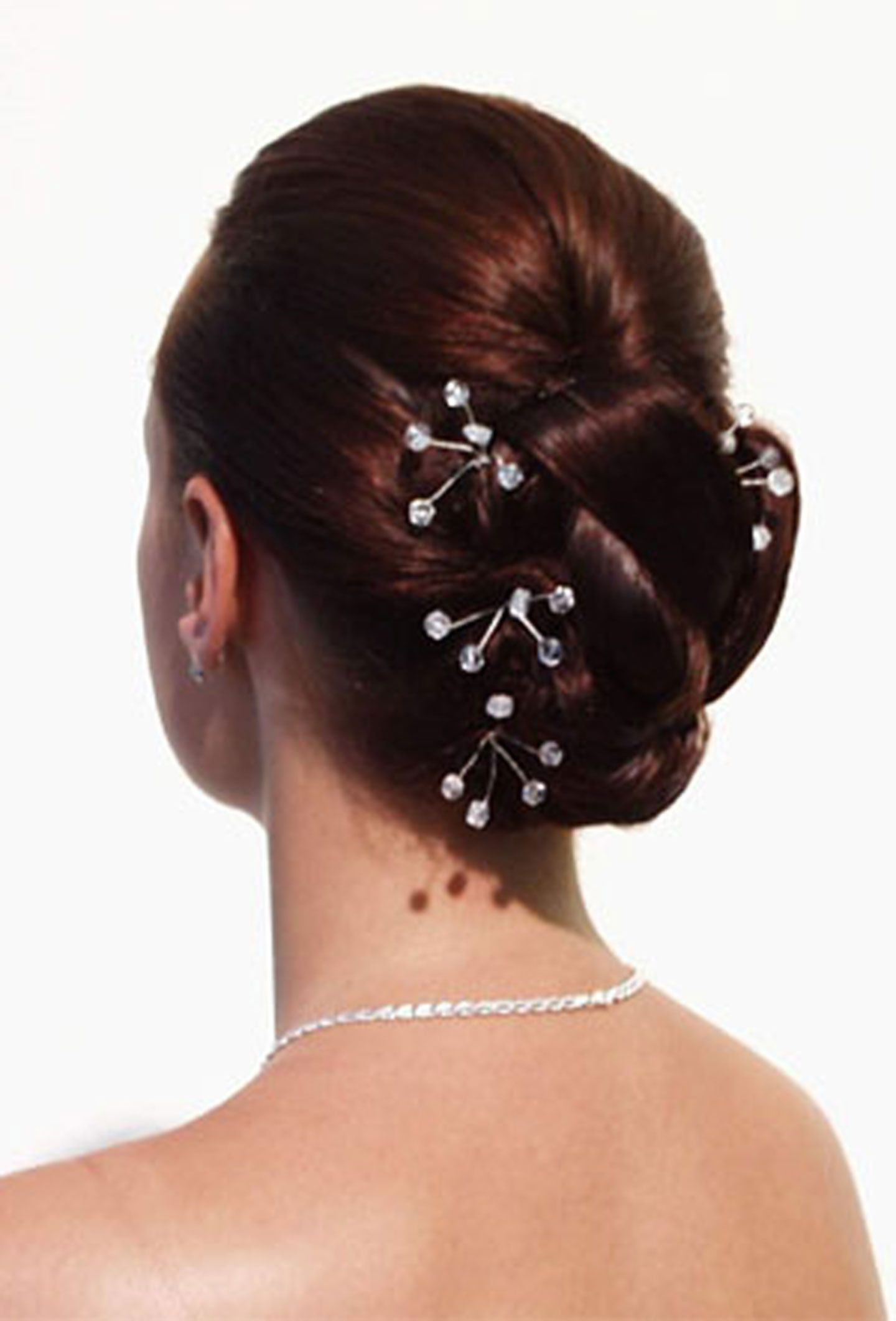 Well Known Teased Wedding Hairstyles With Embellishment Throughout Pinabbra Young On Wedding Hair In  (View 20 of 20)
