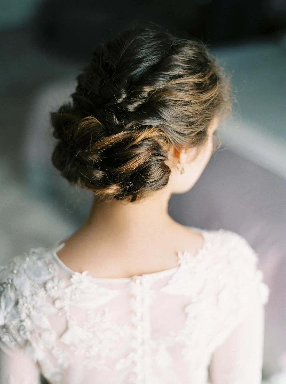 Well Known Wedding Updos With Bow Design In When Bright Color And Whimsy Define Your Wedding Day Style (View 7 of 20)