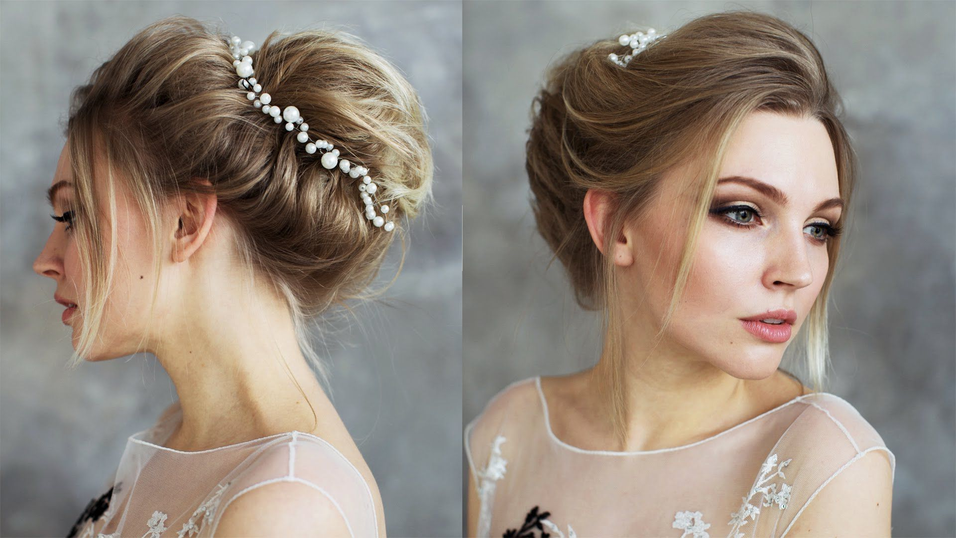 Well Liked Bohemian Braided Bun Bridal Hairstyles For Short Hair Pertaining To Simple Boho Bun For Short Hair Soft Boho Style Updo Tutorial (Gallery 1 of 20)