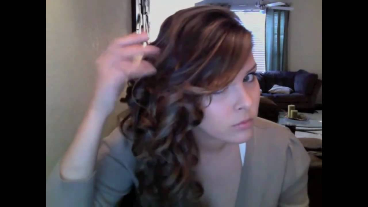 Well Liked Curls Clipped To The Side Bridal Hairstyles With Regard To Side Swept Curls For Long & Short Hair – Youtube (View 19 of 20)