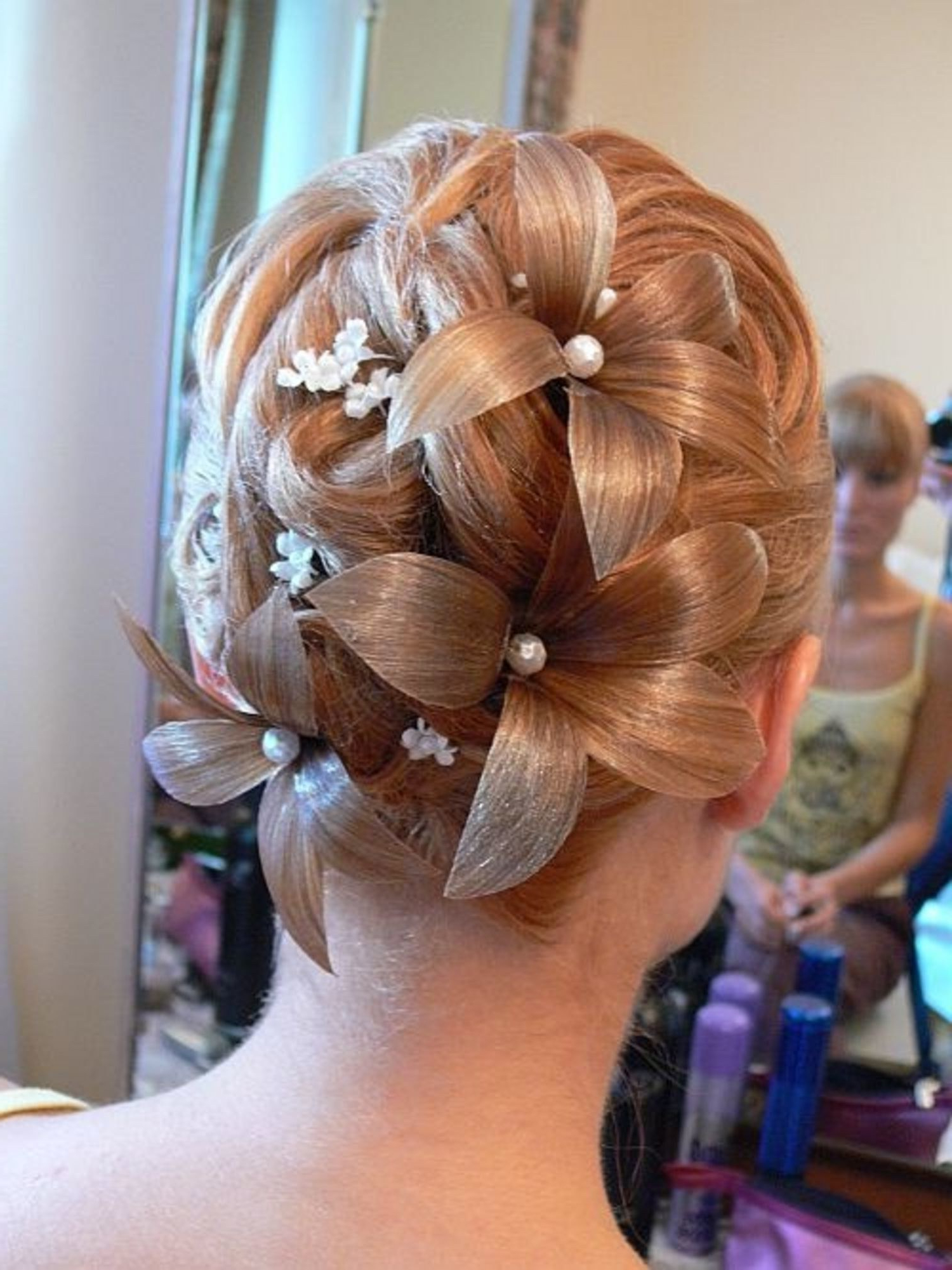 Well Liked French Braided Halfdo Bridal Hairstyles Throughout 10 Wedding Hairstyles Gone Wrong – Glamour (View 20 of 20)