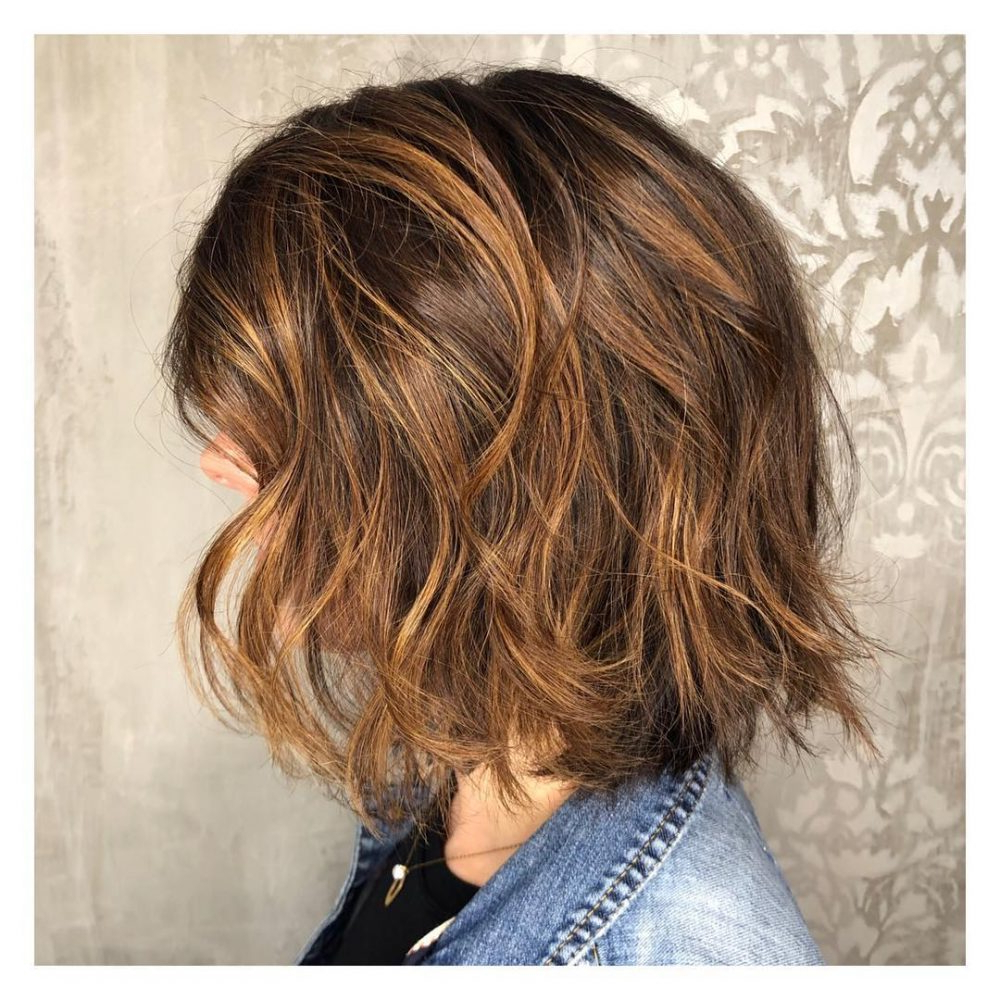 Well Liked Half Up Curly Hairstyles With Highlights Pertaining To 35 Most Delectable Caramel Highlights You'll See In (View 8 of 20)