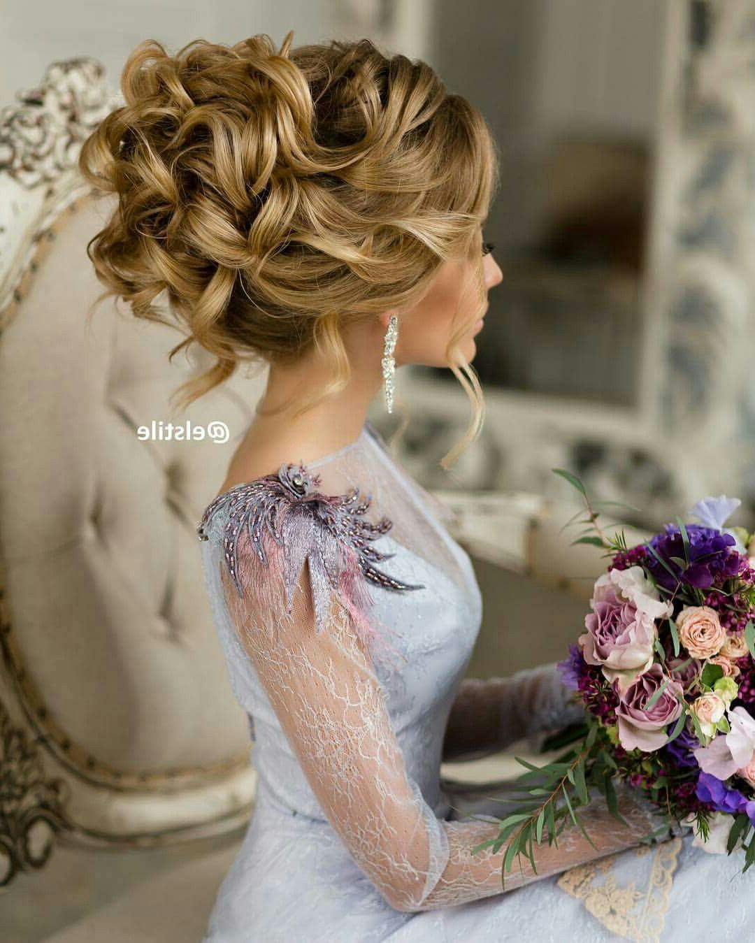 Well Liked Lifted Curls Updo Hairstyles For Weddings With Wedding Updo, Stunning! You Can Add Extensions If You Need To (View 10 of 20)