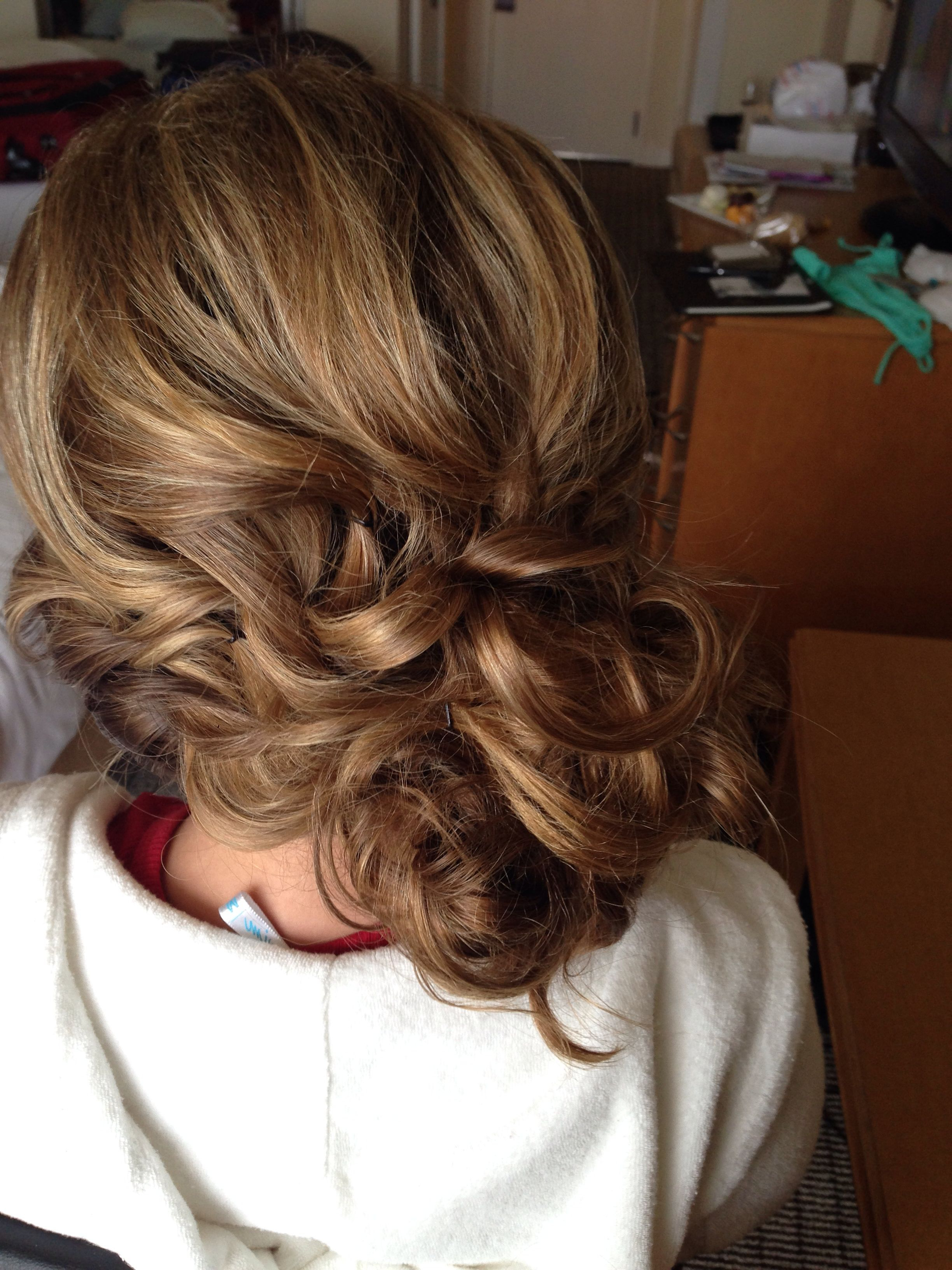 2020 Latest Loose Updo Wedding Hairstyles With Whipped Curls