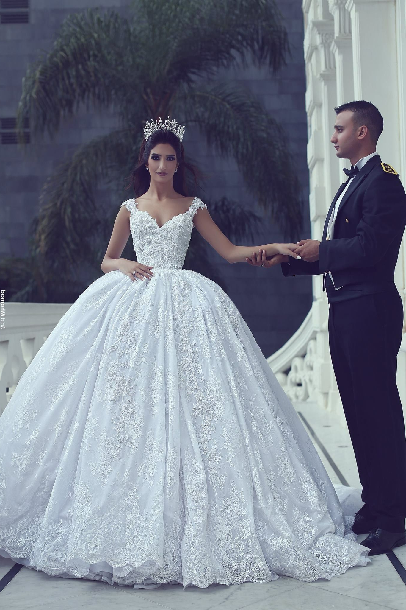 Featured Photo of Sleek And Big Princess Ball Gown Updos For Brides