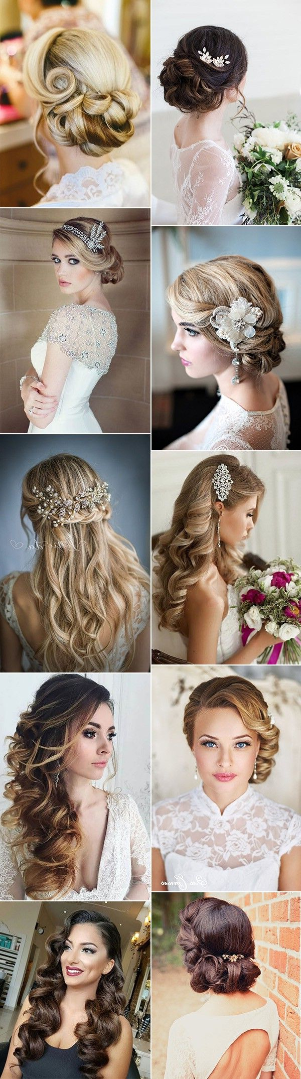 Well Liked Vintage Asymmetrical Wedding Hairstyles Within Top 20 Vintage Wedding Hairstyles For Brides (View 20 of 20)