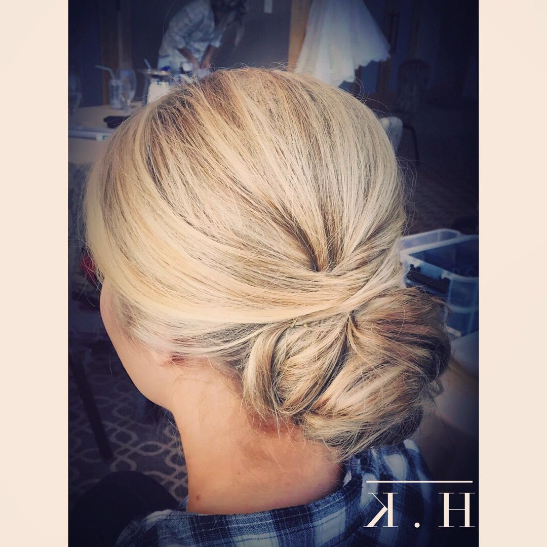Well Liked Wavy And Wispy Blonde Updo Wedding Hairstyles Inside Wedding Hair For Fine Blonde Hair (View 19 of 20)