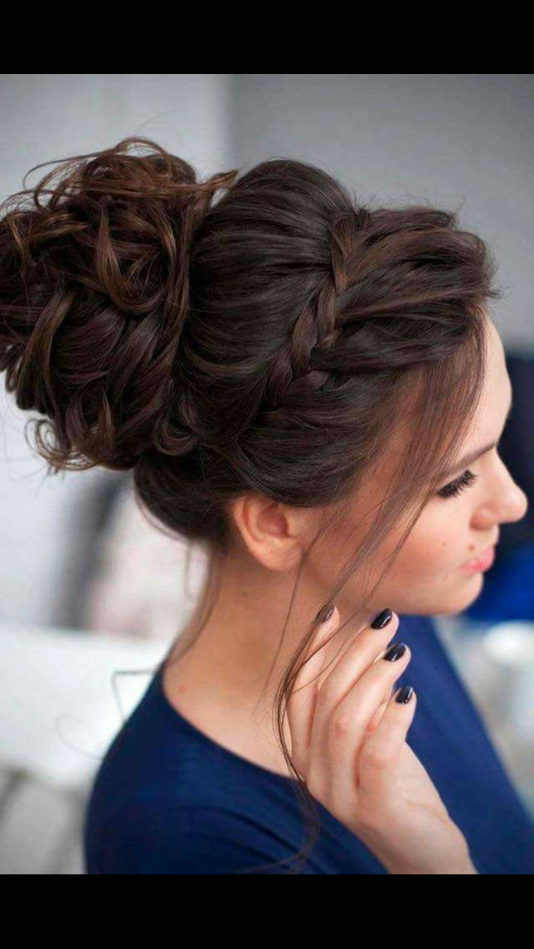 Widely Used Pompadour Bun Hairstyles For Wedding Pertaining To Women's Pompadour Hairstyle (Gallery 10 of 20)