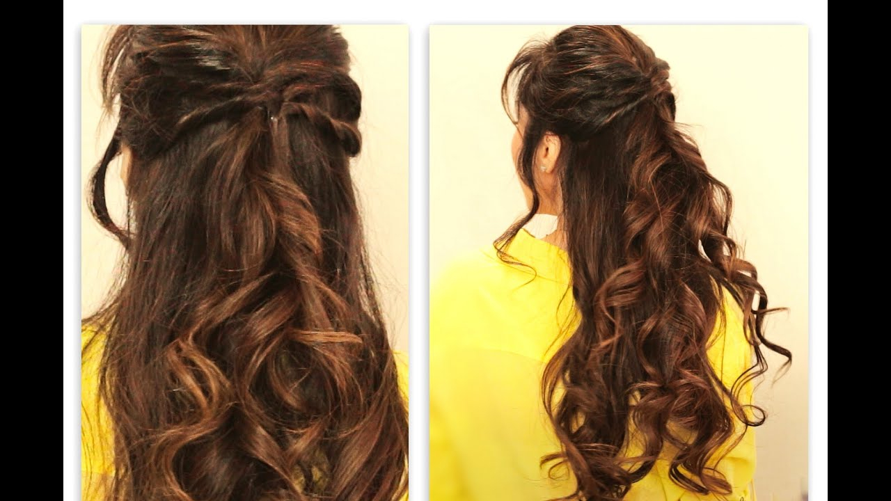 Widely Used Simple And Cute Wedding Hairstyles For Long Hair Inside ☆ Cute Twisted Flip Half Up Half Down Fall Hairstyles For Medium (View 17 of 20)