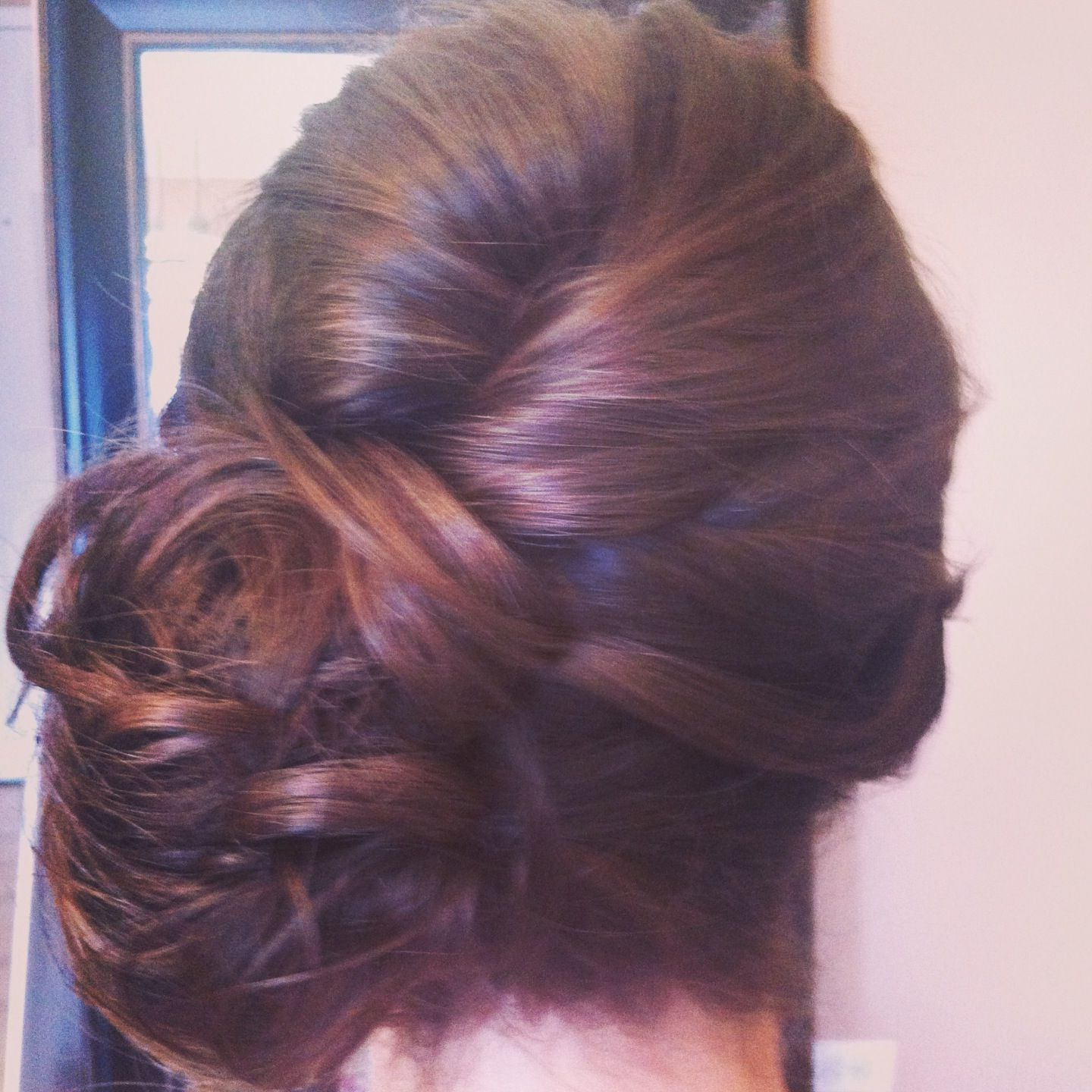 Www.chicagostylelust Low Side Bun With Loose Curls Pinned Up With Latest Curls Clipped To The Side Bridal Hairstyles (Gallery 12 of 20)