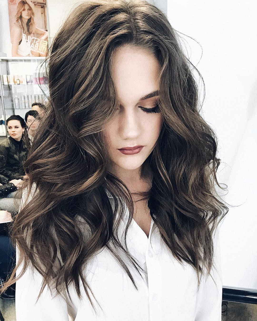 10 Gorgeous Long Wavy Perm Hairstyles, Long Hair Styles 2019 Inside Recent Long Tousled Voluminous Hairstyles (View 2 of 20)