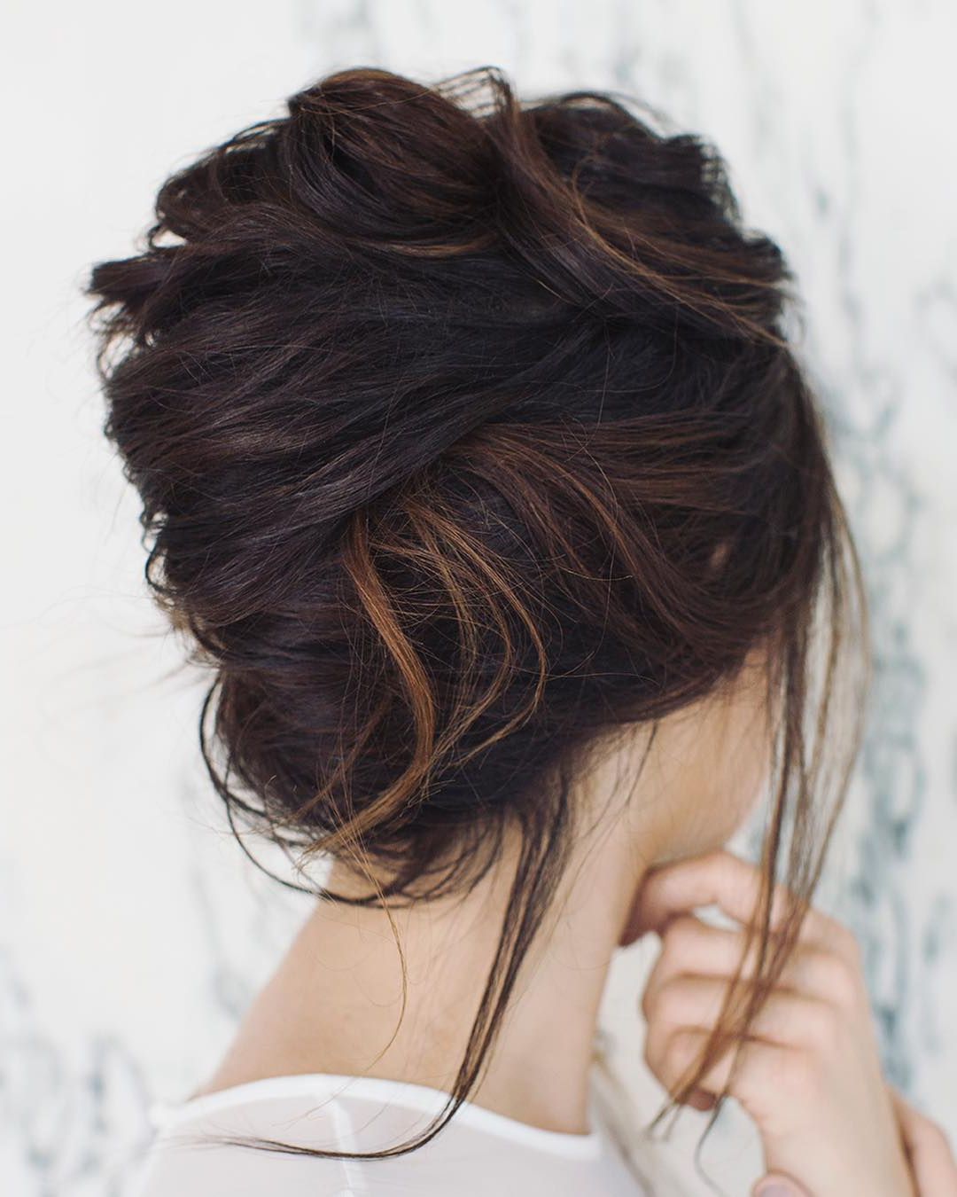 10 Gorgeous Prom Updos For Long Hair, Prom Updo Hairstyles 2019 Throughout Fashionable Twisted Low Bun Hairstyles For Prom (View 18 of 20)