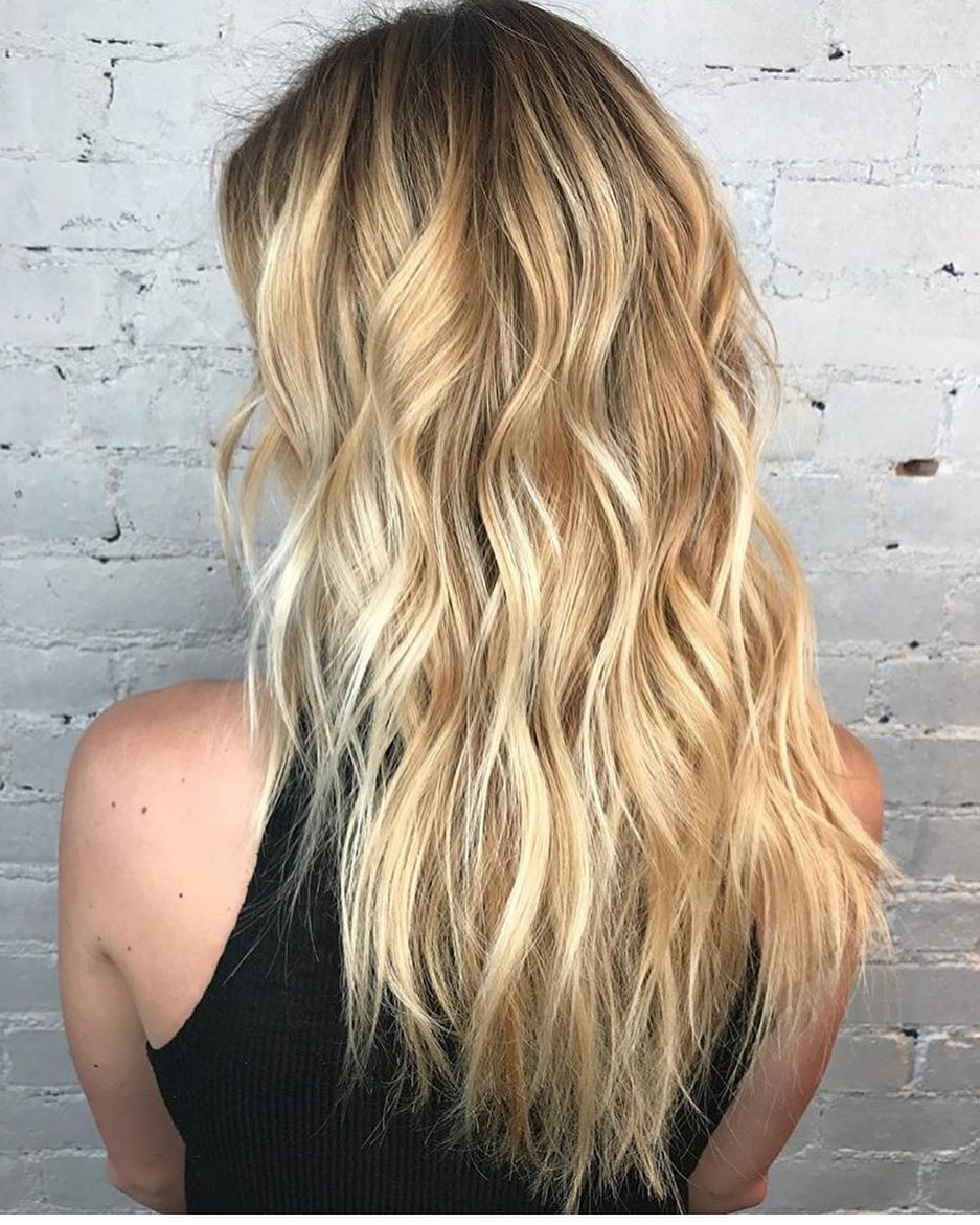10 Layered Hairstyles & Cuts For Long Hair In Summer Hair Colors Within Trendy Brown Blonde Hair With Long Layers Hairstyles (View 4 of 20)