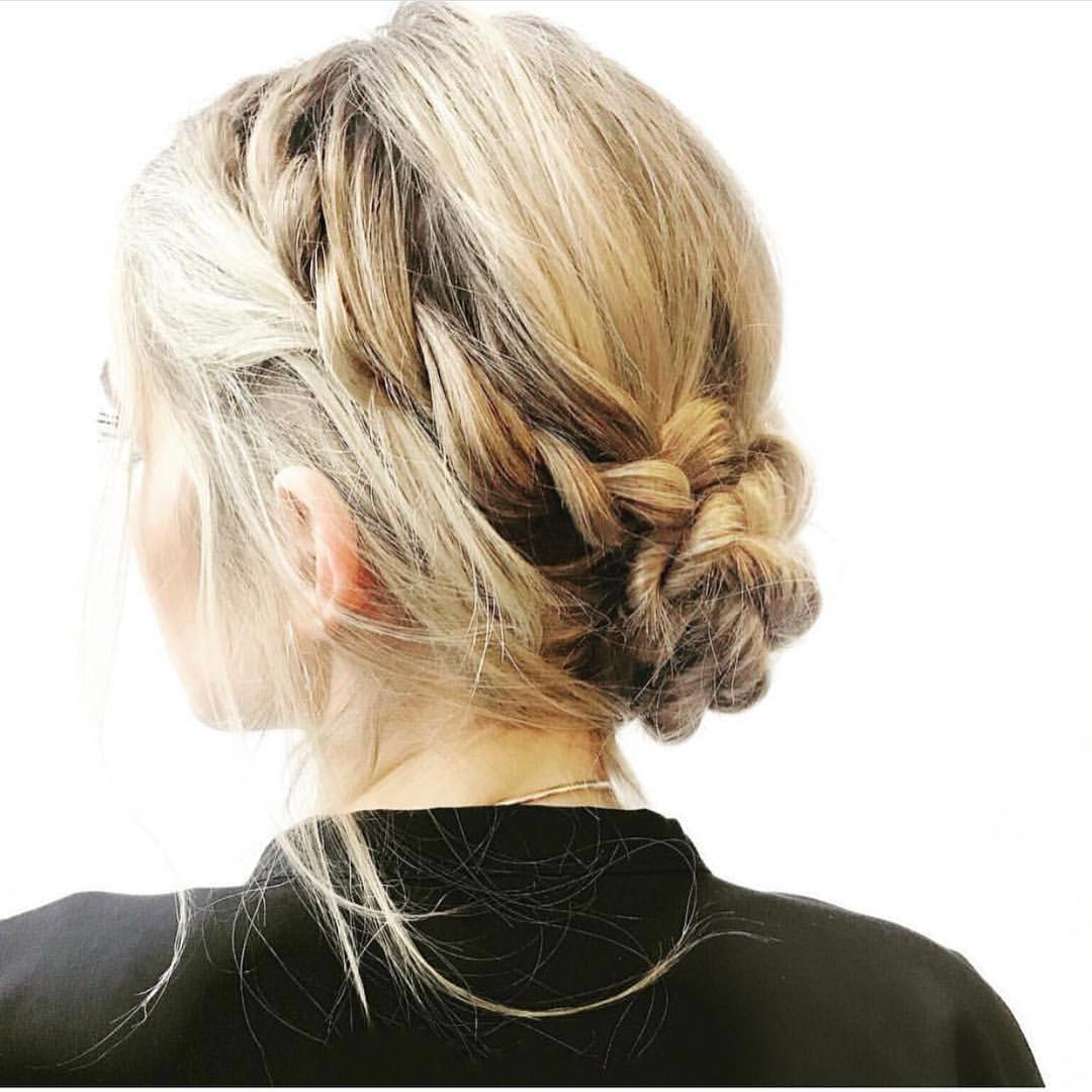 10 New Prom Updo Hair Styles 2019 – Gorgeously Creative New Looks In Favorite Asymmetrical Knotted Prom Updos (View 1 of 20)