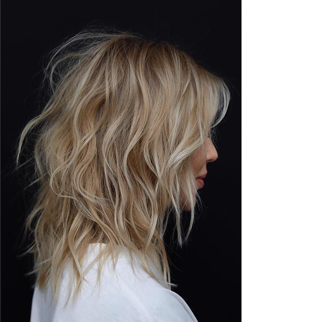 10 Top Shoulder Length Hairstyles – Wavy Hair, Women Medium Haircut 2019 Regarding Favorite Long Tousled Layers Hairstyles (Gallery 19 of 20)