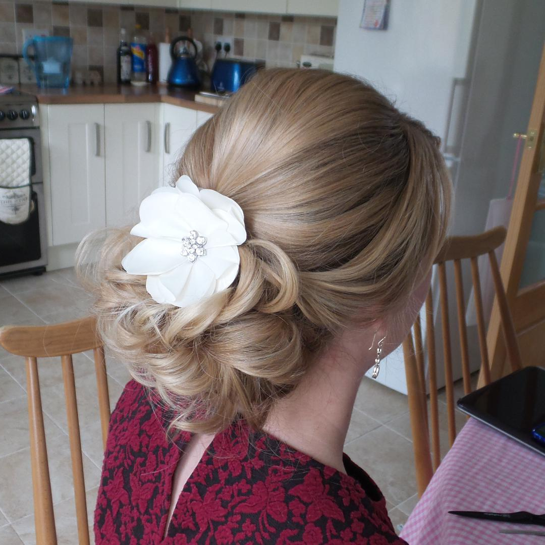 14 Prom Hairstyles For Long Hair That Are Simply Adorable Inside Best And Newest Sculpted Orchid Bun Prom Hairstyles (Gallery 13 of 20)