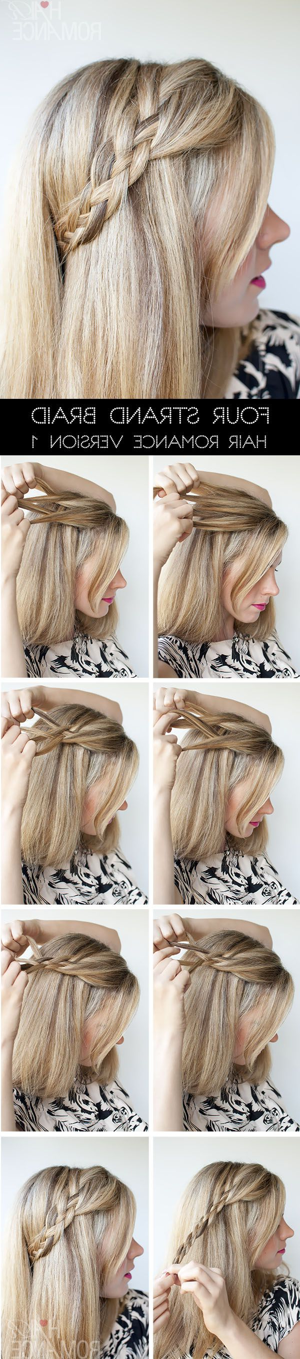 15 Stylish Half Up Half Down Tutorials – Pretty Designs Pertaining To Well Known Curly Half Updo With Ponytail Braids (View 5 of 20)