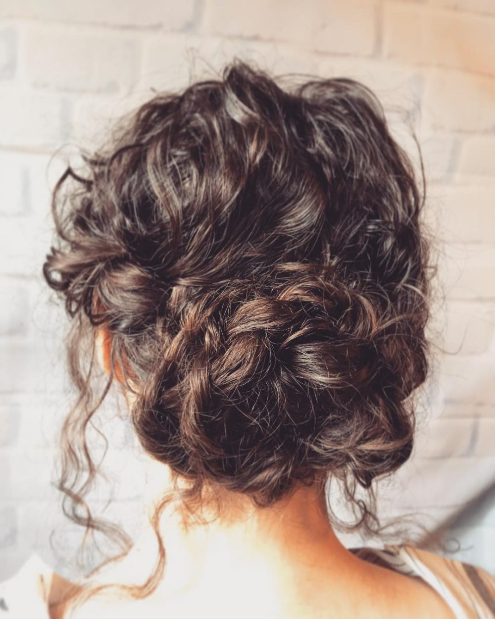 18 Stunning Curly Prom Hairstyles For 2019 – Updos, Down Do's & Braids! With Popular Formal Curly Hairdo For Long Hairstyles (View 1 of 20)