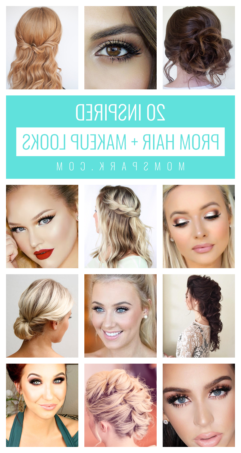 20 Inspired Prom Hair And Makeup Looks (View 5 of 20)