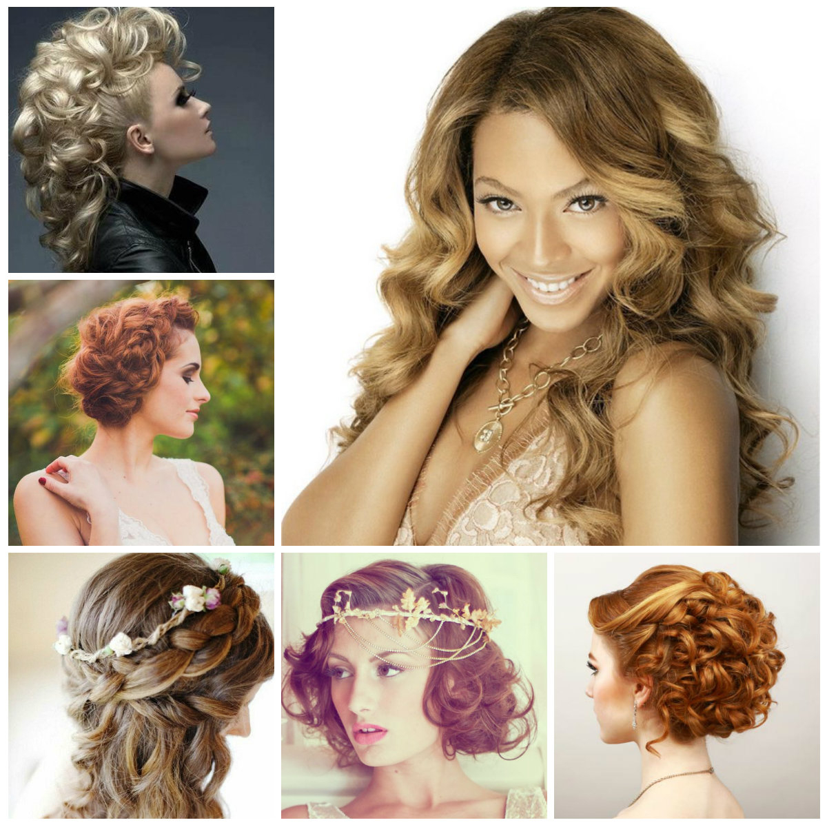2016 Pretty Curly Hairstyles For Prom (View 2 of 20)