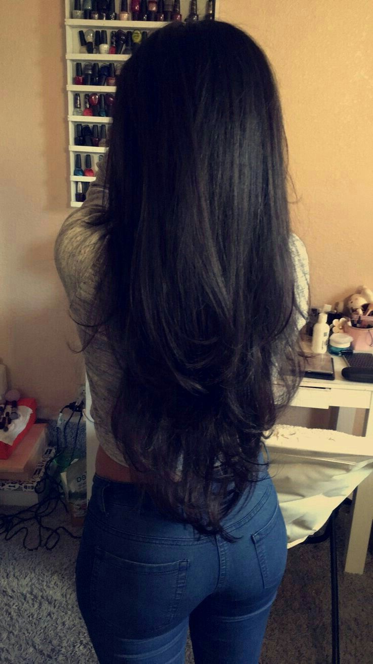 2018 Black And Brown Layered Haircuts For Long Hair For Long Black Hair With Layers (View 13 of 20)