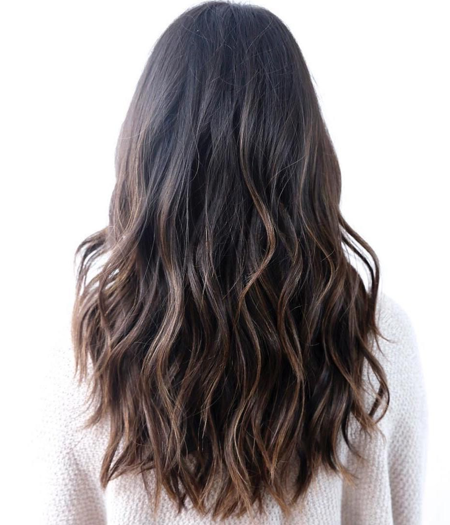 2018 Long Layered Waves Hairstyles With 80 Cute Layered Hairstyles And Cuts For Long Hair (View 15 of 20)