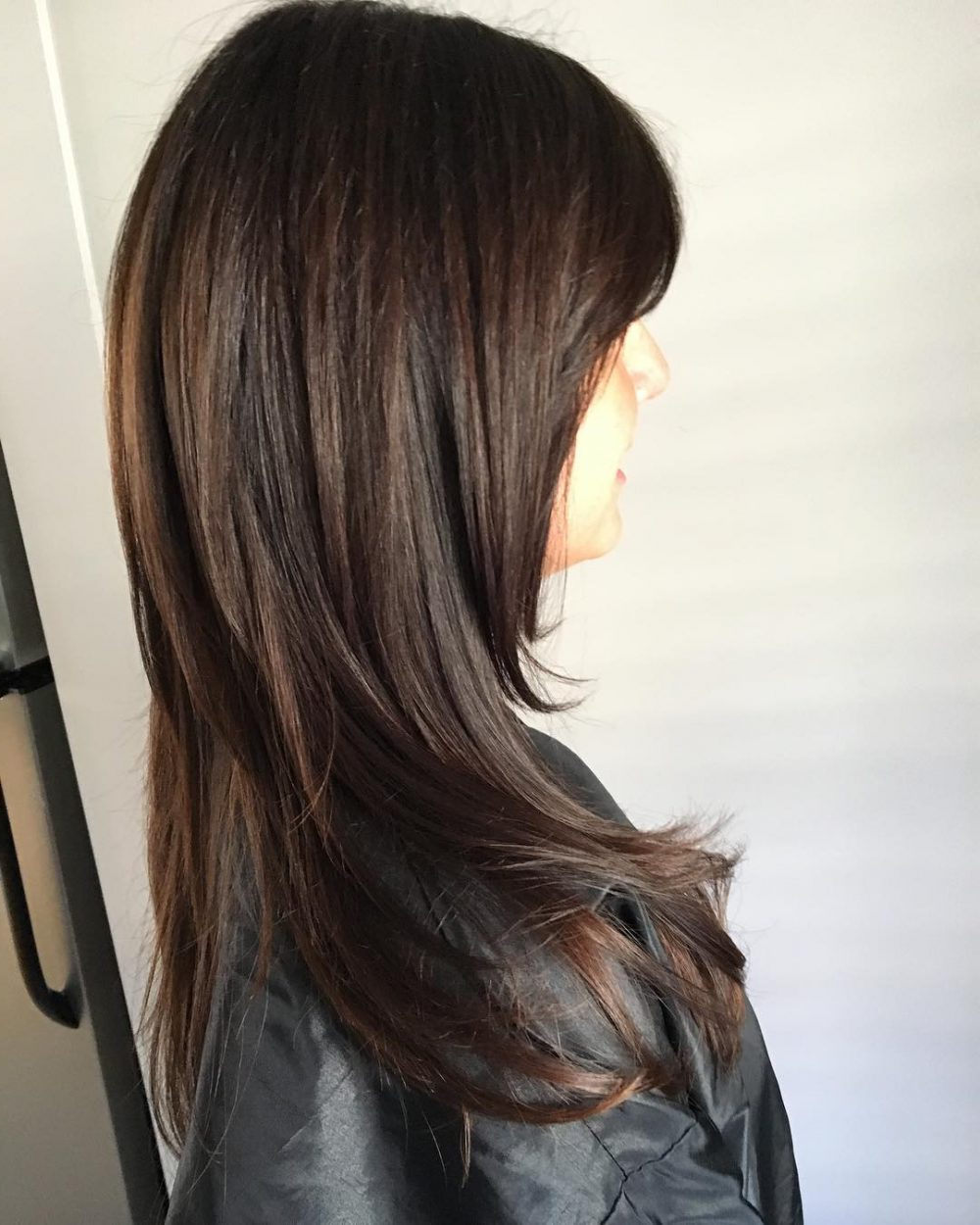 2019 Black And Brown Layered Haircuts For Long Hair Regarding 120 Flattering Hairstyles For Straight Hair That Everyone Can Pull Off (Gallery 8 of 20)