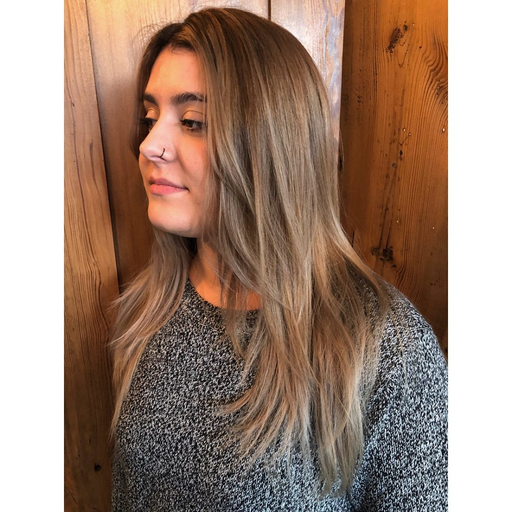26 Prettiest Hairstyles For Long Straight Hair In 2019 For Fashionable Straight Layered For Long Hairstyles (Gallery 9 of 20)