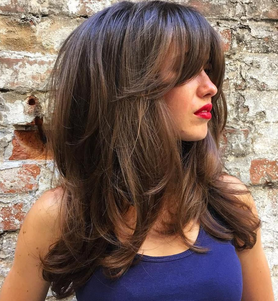 30 Latest Hairstyles For Girls With Long Hair 2019 – Find Health Tips Intended For Widely Used Descending Face Framing Layers For Long Hairstyles (View 4 of 20)