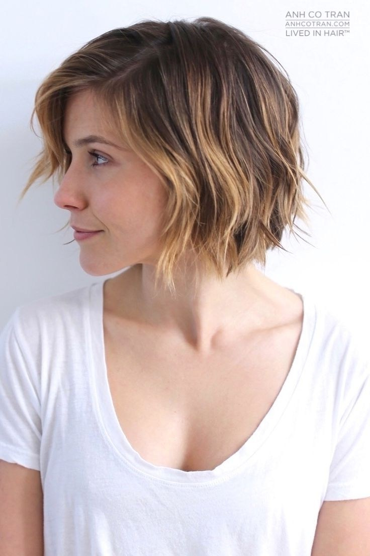 30 Pretty Short Haircuts For Every Woman – Hairstyle Fix Pertaining To Well Liked Long Choppy Haircuts With A Sprinkling Of Layers (Gallery 18 of 20)