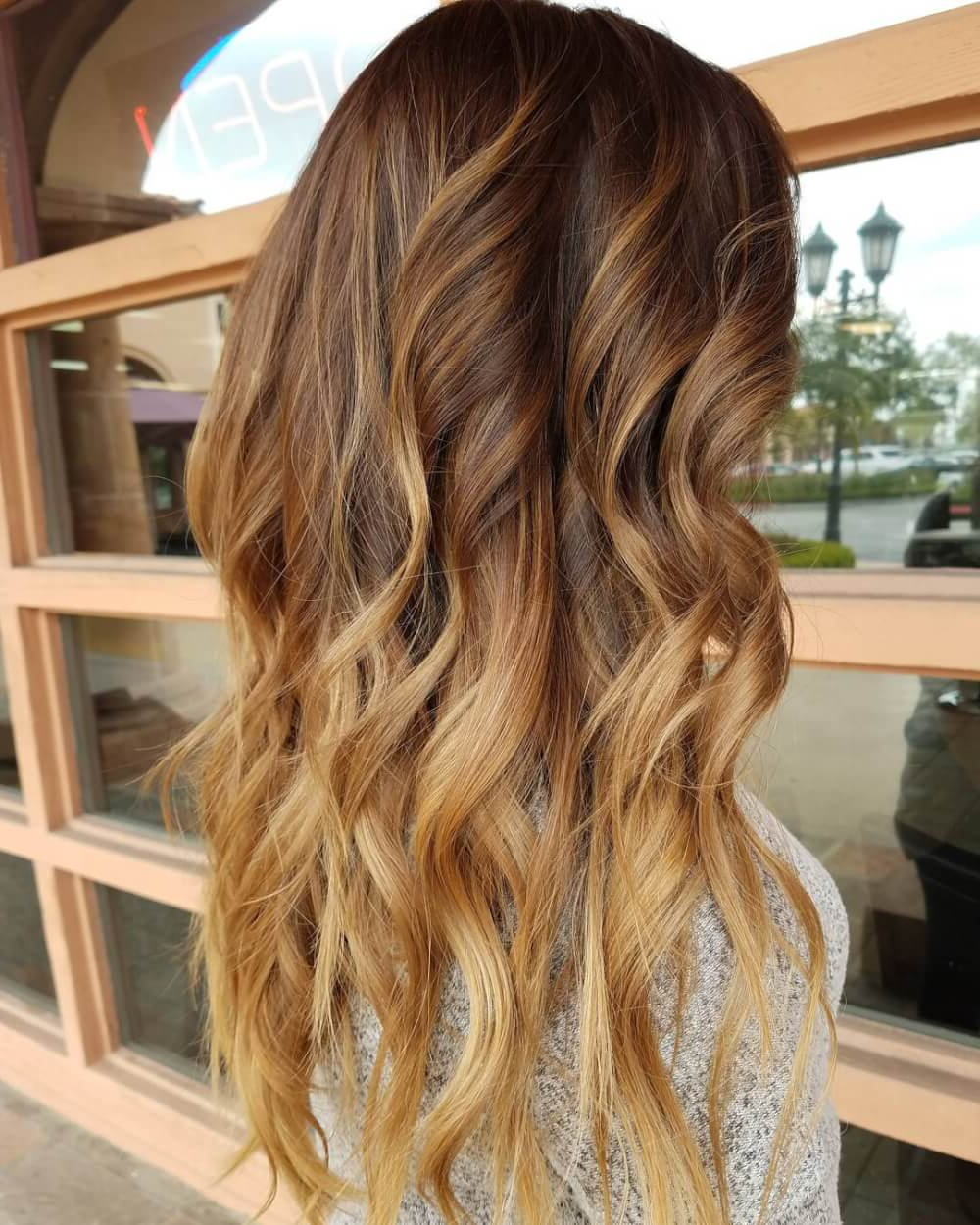 36 Light Brown Hair Colors That Are Blowing Up In 2019 Within 2019 Warm Toned Brown Hairstyles With Caramel Balayage (Gallery 7 of 20)