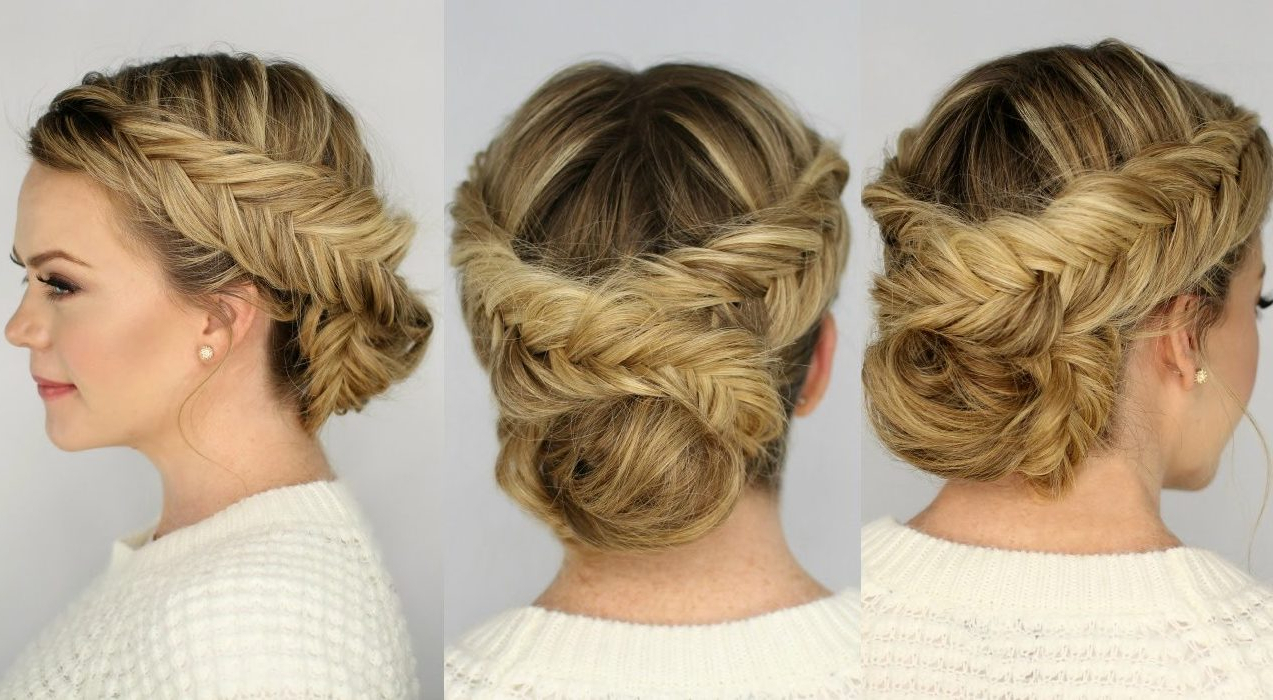 37 Dutch Braid Hairstyles – Braided Hairstyles With Tutorials – With Within Newest Braid Spikelet Prom Hairstyles (View 18 of 20)