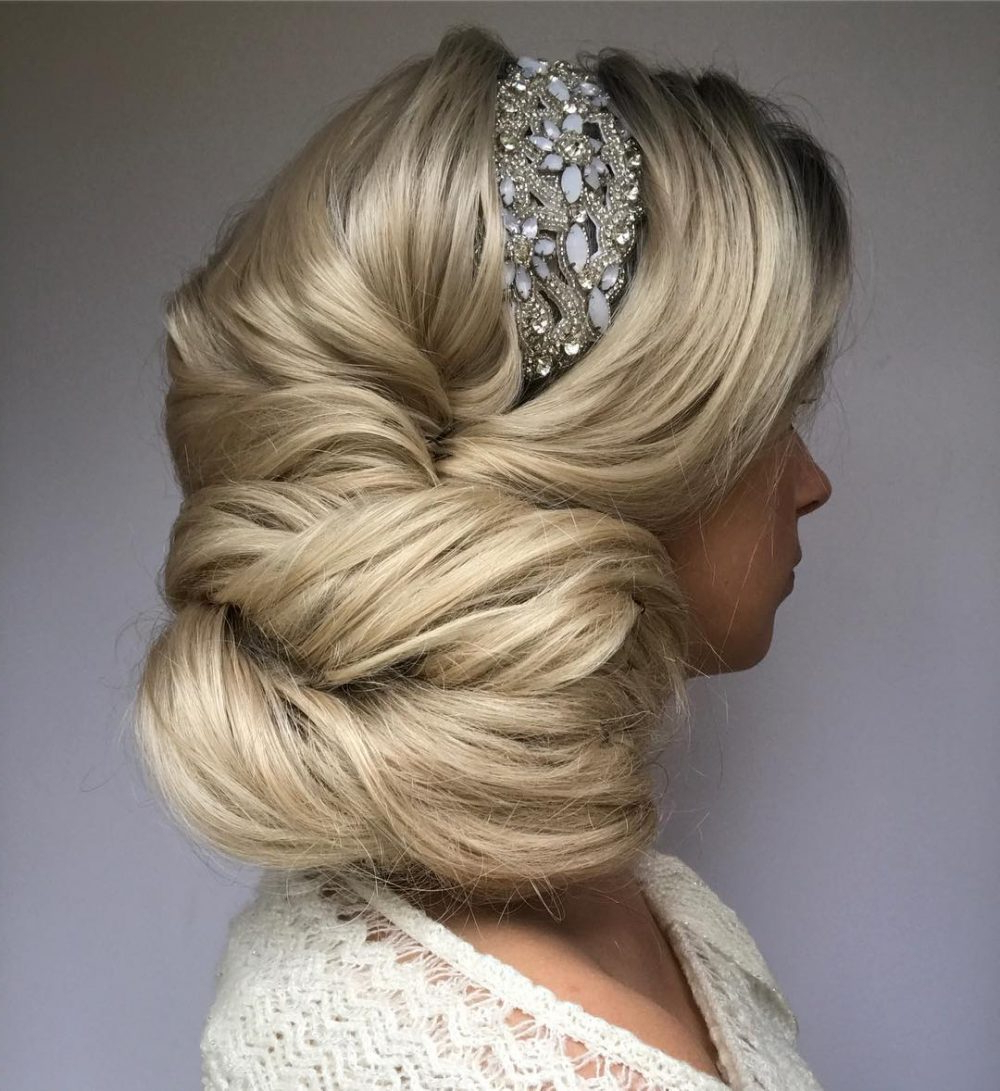 37 Inspiring Prom Updos For Long Hair For 2019 #inspo Pertaining To Recent Classic Prom Updos With Thick Accent Braid (View 11 of 20)