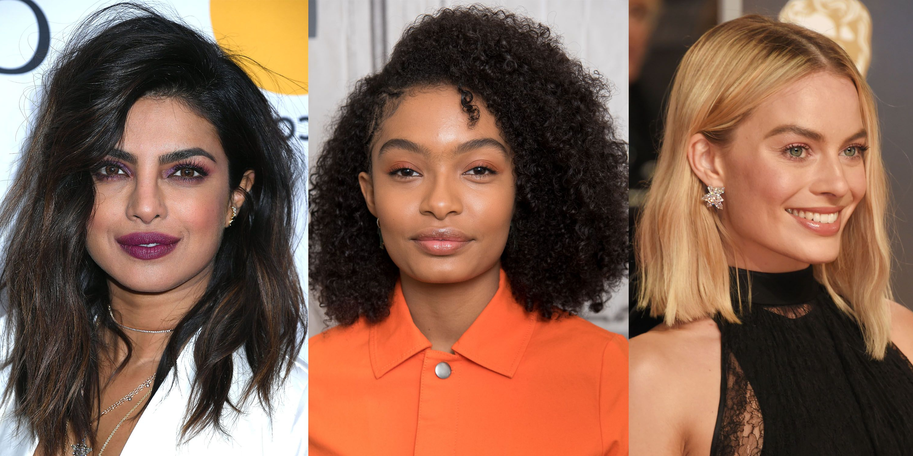 40 Best Medium Hairstyles – Celebrities With Shoulder Length Haircuts Within Trendy Windswept Layers For Long Hairstyles (View 8 of 20)