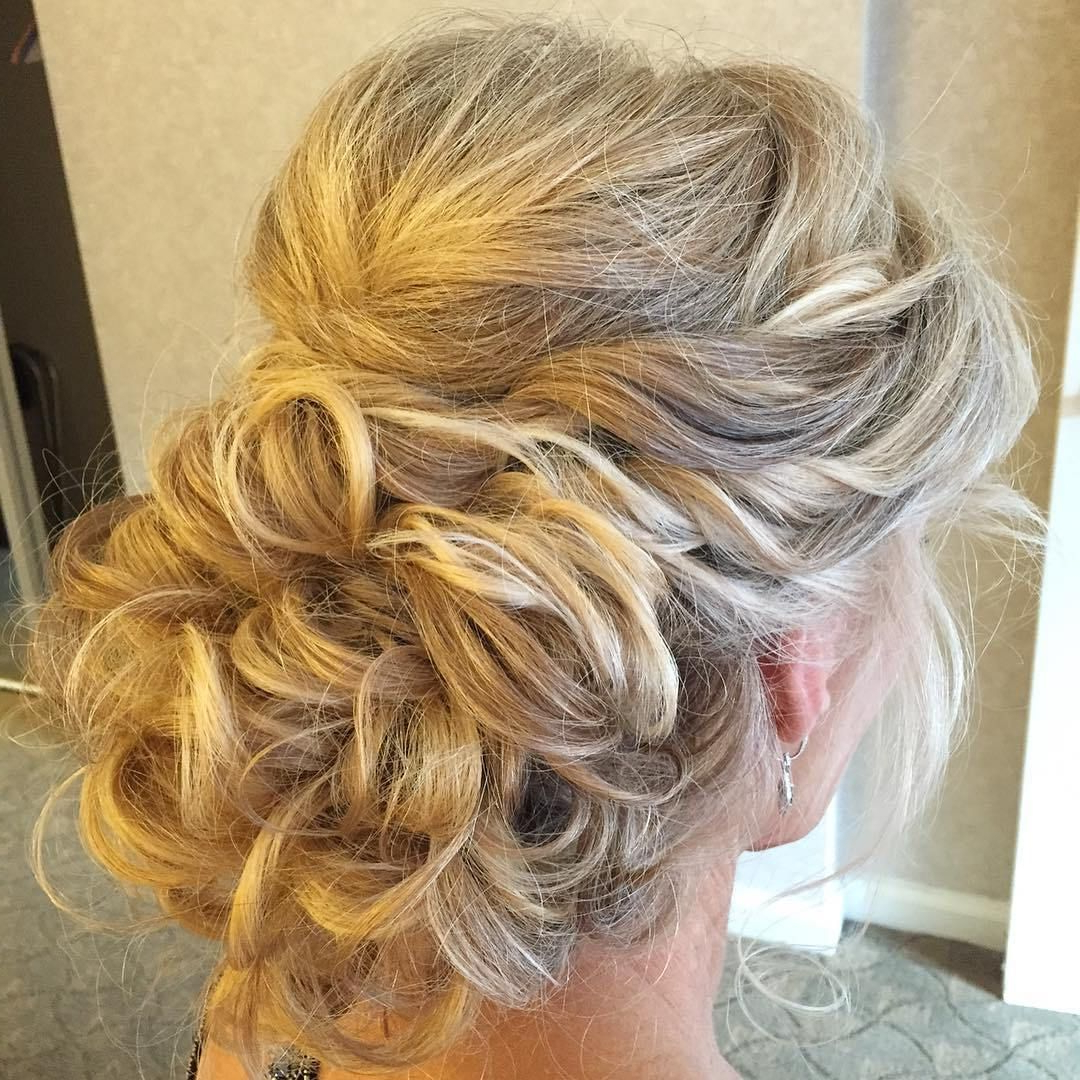 40 Chic Wedding Hair Updos For Elegant Brides In 2019 (Gallery 20 of 20)