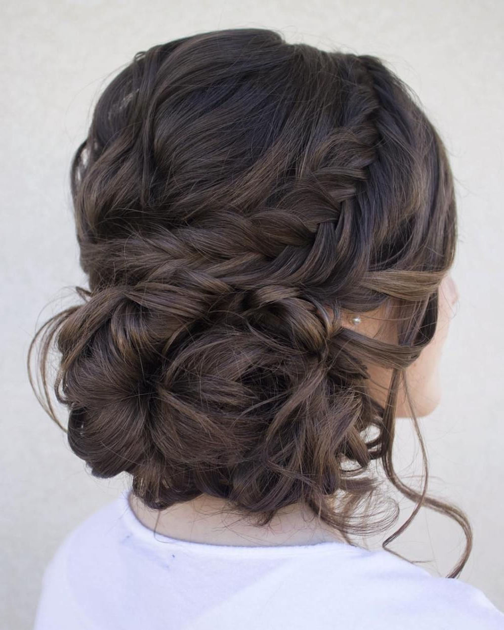 40 Most Delightful Prom Updos For Long Hair In 2019 In 2019 Intended For Most Recently Released Volumized Low Chignon Prom Hairstyles (View 6 of 20)