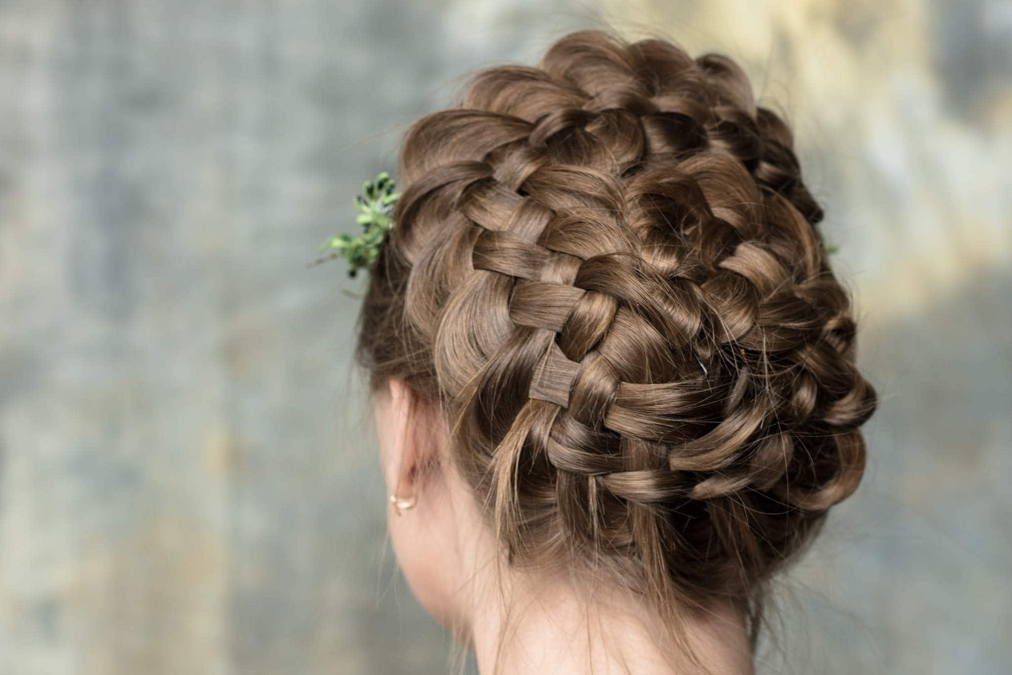45 Braided Updos For Long Hair For All Personalities Inside Well Liked Jewelled Basket Weave Prom Updos (View 4 of 20)